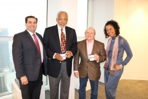 Miami Partner in Charge, Frank Rodriguez; Dr. Bruce Trotman; Credit Union Practice Group Chair, Michael D. Lozoff; and, Associate Greta Trotman.