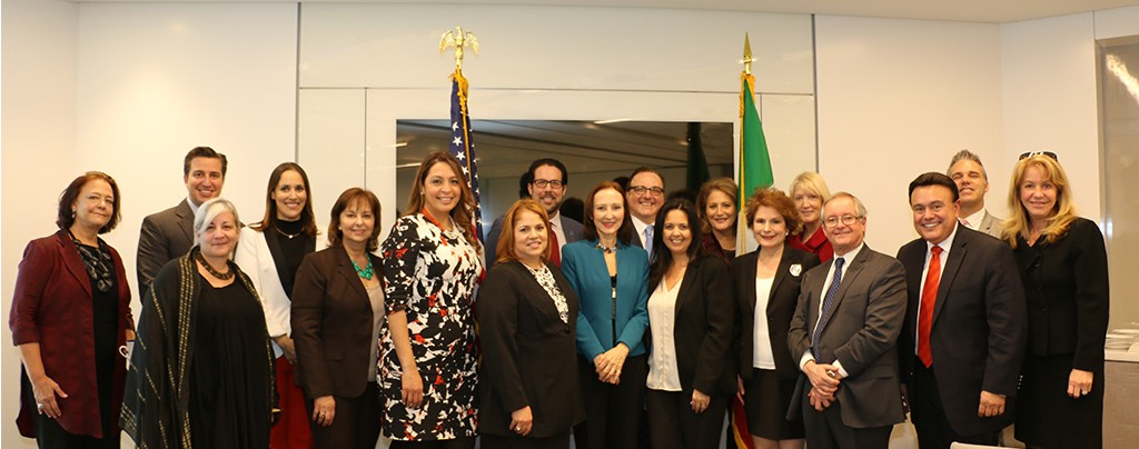 Attendees at Italian Consul General Gloria Bellelli Luncheon - Feb. 17, 2016