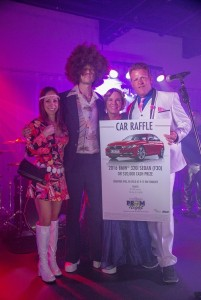 Derrick and Susana Valkenburg with Shutts & Bowen, LLP were the lucky winners of the BMW or $20,000 cash prize raffle at the Junior Achievement of Central Florida's Ticket to Heaven Prom Night.