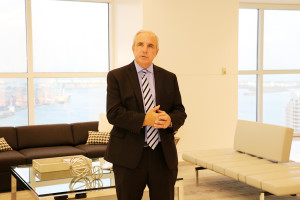 Miami Mayor Carlos A. Gimenez recently attended an event at Shutts Miami that helped raise funds for his campaign.