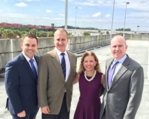 Attorneys Brendan Aloysius Barry (Port Everglades Association) and Dan Daley (Vice Mayor Coral Springs, Chair of Broward League of Cities) celebrated Congress' recent passage of the Water Infrastructure Improvements for the Nation (WIIN) Act of 2016.