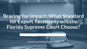 What standard of expert testimony will the Florida Supreme Court Choose? Frye or Daubert?