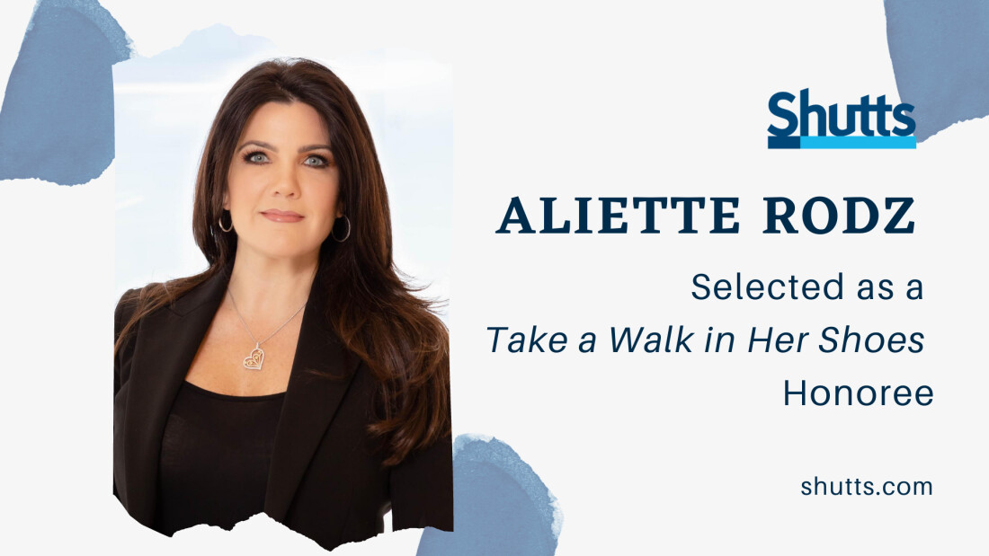 Aliette Rodz - Take a Walk in Her Shoes Honoree