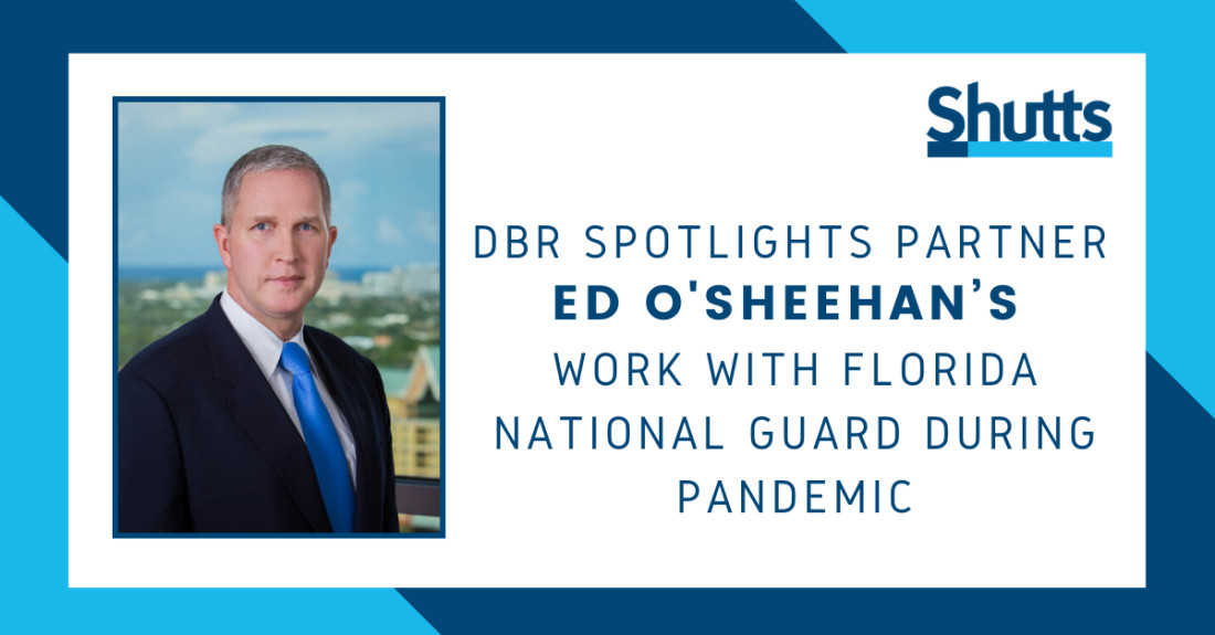 Ed O'Sheehan Profile in DBR - June 2020