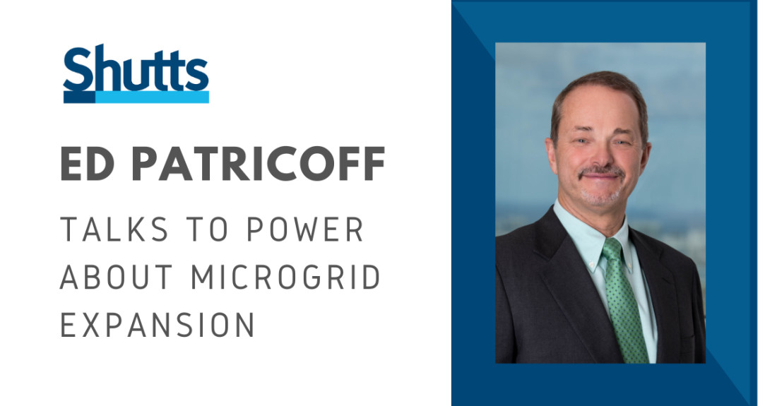 Ed Patricoff Discusses Microgrids with POWER
