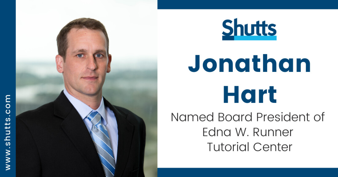 Jonathan Hart Elected Board President of Runner Tutorial Center