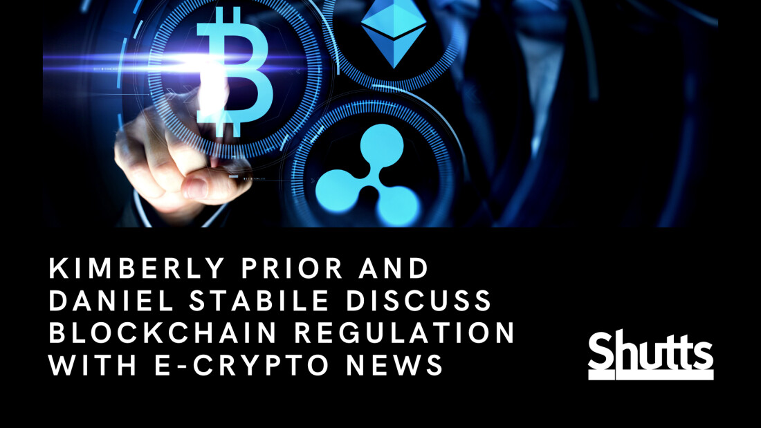 Kimberly Prior and Daniel Stabile Discuss Blockchain Regulation with E-Crypto News
