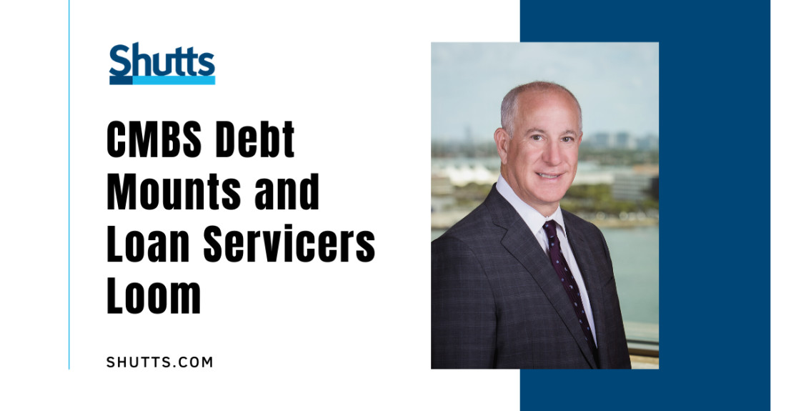 Lee Macskon speaks about CMBS Debt to The Real Deal