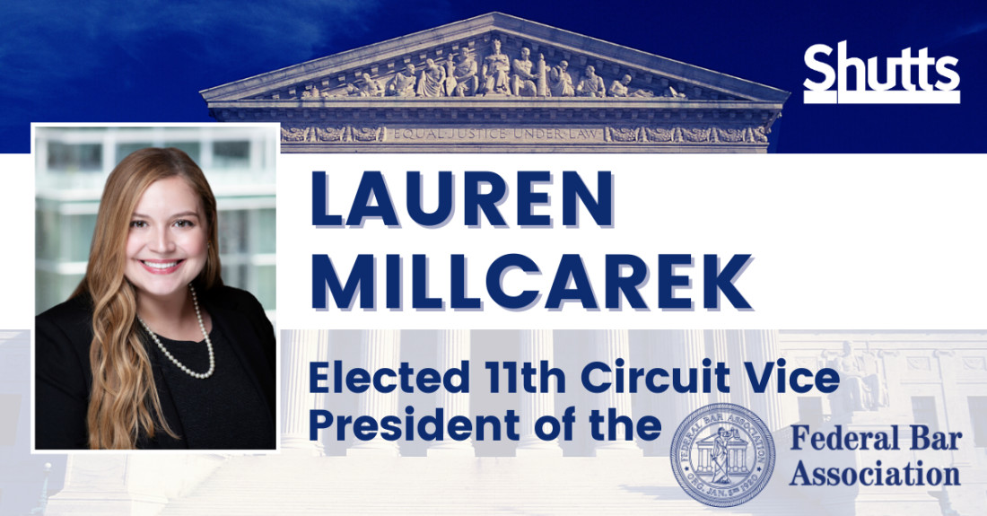 Lauren Millcarek Elected 11th Circuit Vice President of the Federal Bar Association