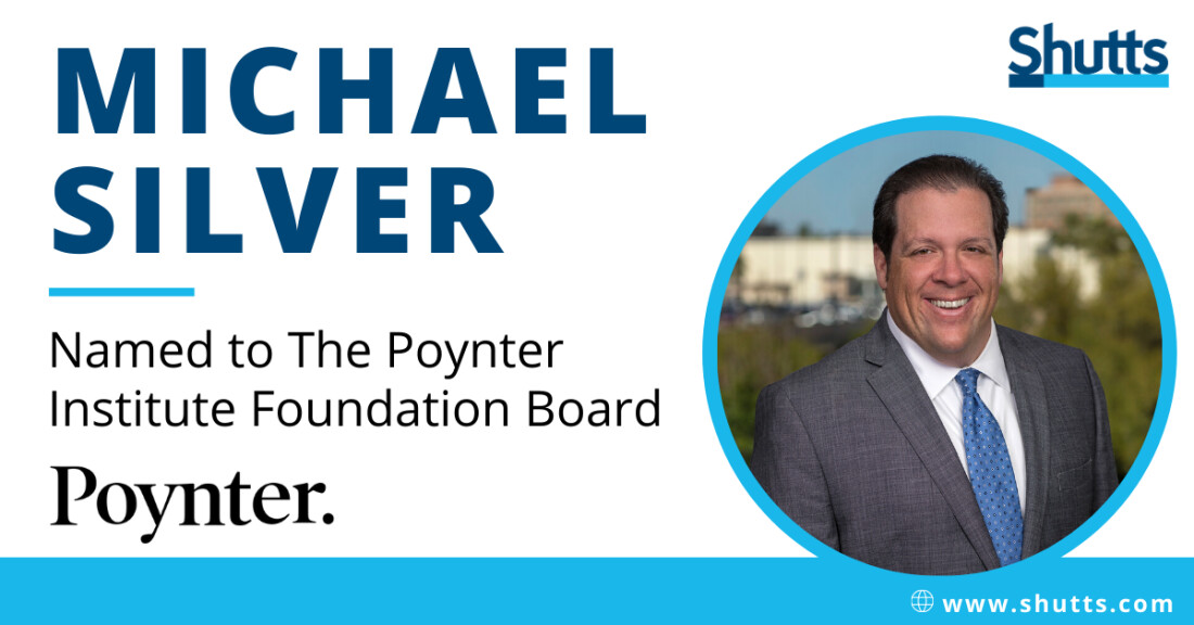 Michael Silver Named to The Poynter Institute Foundation Board