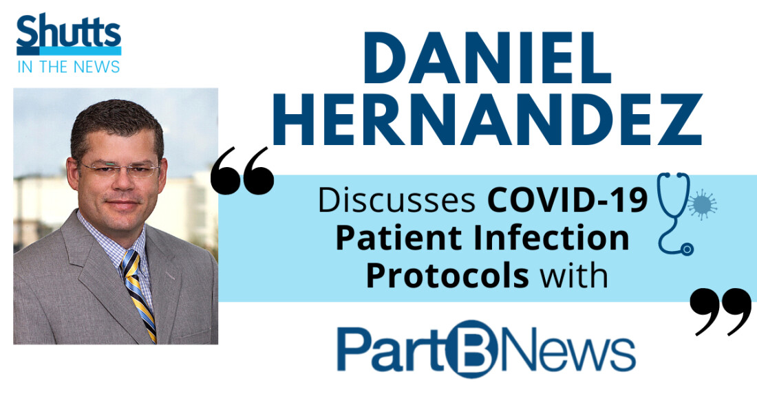 Daniel Hernandez Discusses COVID-19 Patient Infection Protocols with PartBNews