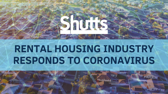 Rental Housing Industry Responds to the Coronavirus Outbreak - Shutts & Bowen