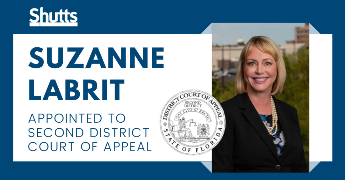 Suzanne Labrit Appointed to Second District Court of Appeal