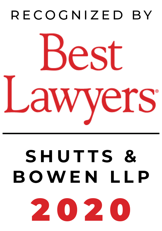 Best Lawyers 2020 - Shutts & Bowen