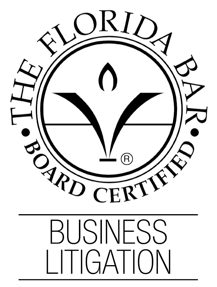 Florida Bar Board Certified in Business Litigation