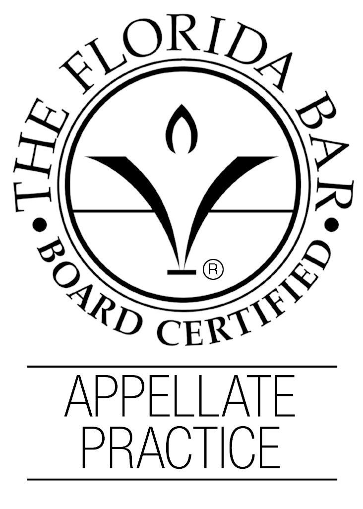 Florida Bar Board Certified in Appellate Law