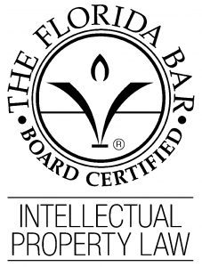 Florida Bar Board Certified in Intellectual Property Law
